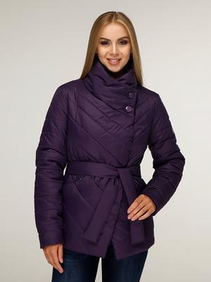 Куртка фіолетова | 5179088
