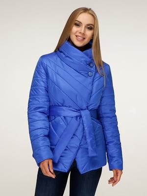 Куртка кольору синій-електрик | 5179093