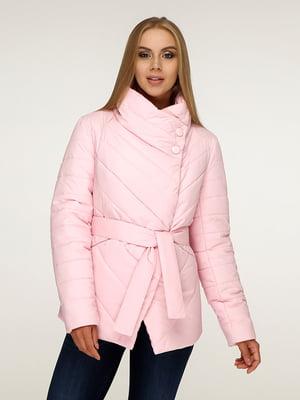 Куртка рожева | 5179102
