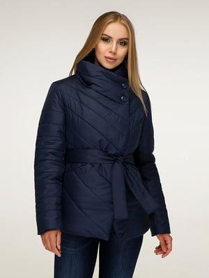Куртка темно-синя | 5179109