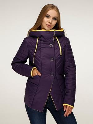 Куртка фіолетова | 5181403