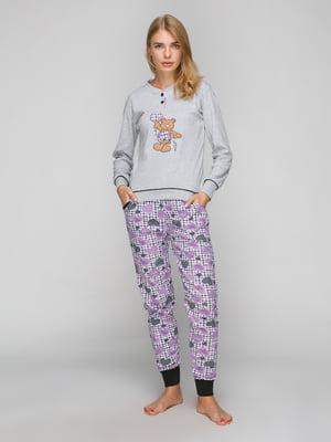 Комплект: лонгслив и брюки | 5180852