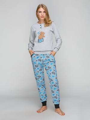 Комплект: лонгслив и брюки | 5180846