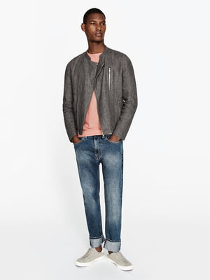 Куртка сіра | 5182026