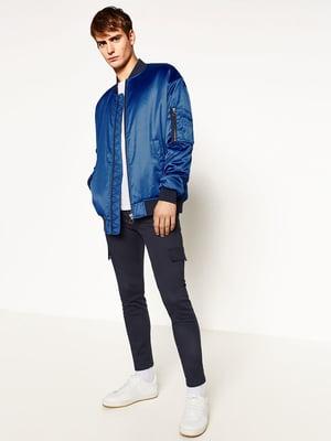Куртка синя | 5182325