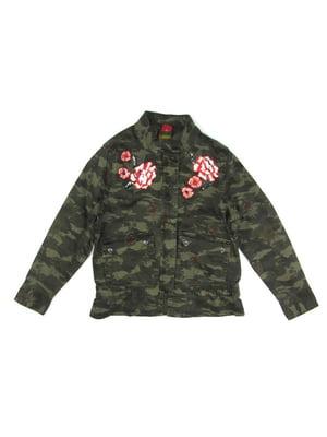 Куртка в камуфляжной расцветки | 5182853