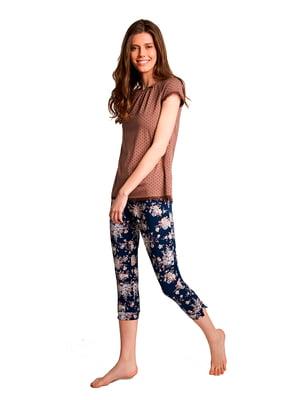 Пижама: футболка и бриджи | 5182971