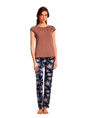 Пижама: футболка и брюки | 5182992