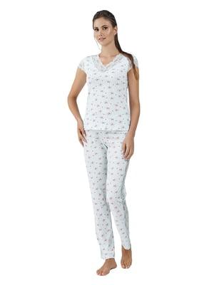 Пижама: футболка и  брюки | 5182969