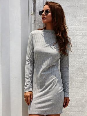 Платье серое | 5183028