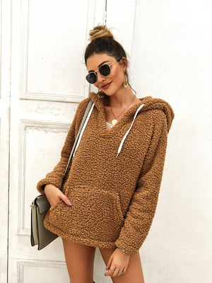 Пуловер кольору хакі | 5183039