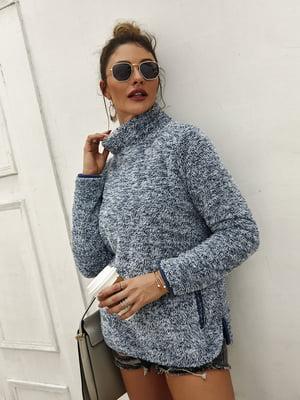 Пуловер синій | 5183040