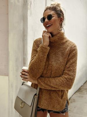 Пуловер кольору хакі | 5183041
