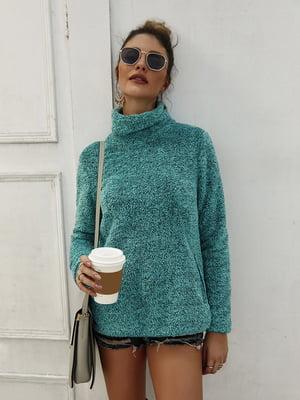 Пуловер зеленый | 5183042