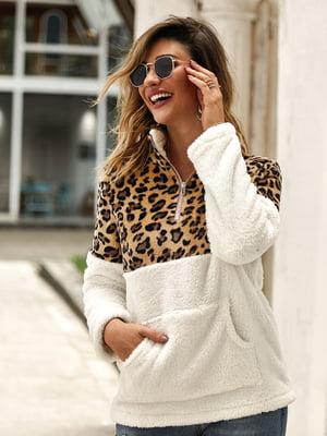 Пуловер білий | 5183044