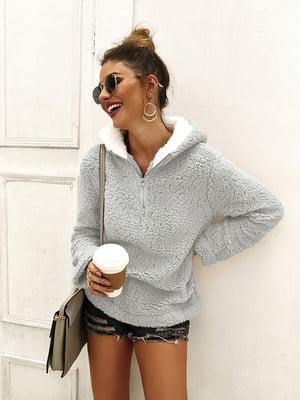 Пуловер сірий | 5183055