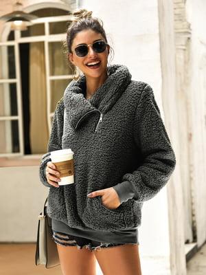 Пуловер темно-сірий | 5183064