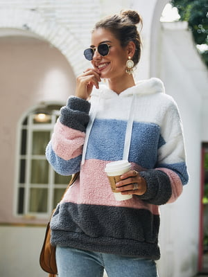Пуловер трьохкольоровий | 5183073