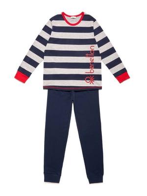 Пижама: лонгслив и брюки | 5155627