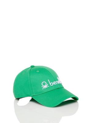 Бейсболка зеленая | 5165351
