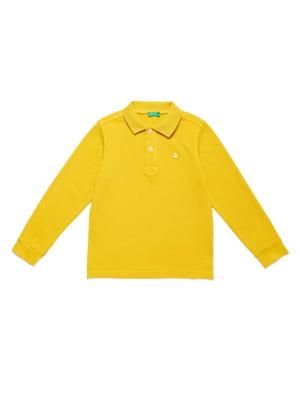 Джемпер-поло желтый | 5150899
