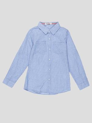 Рубашка синяя | 5180434