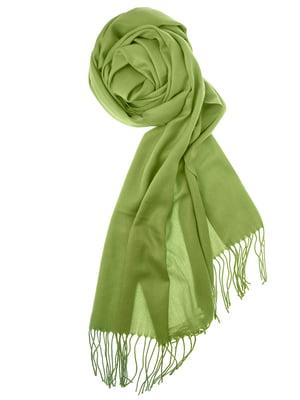 Шаль зеленая | 5184552