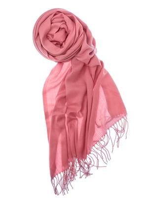 Шаль розовая | 5184556