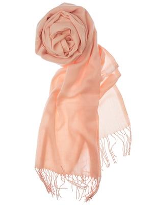 Шаль розовая | 5184564