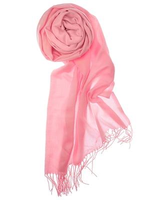 Шаль розовая | 5184567