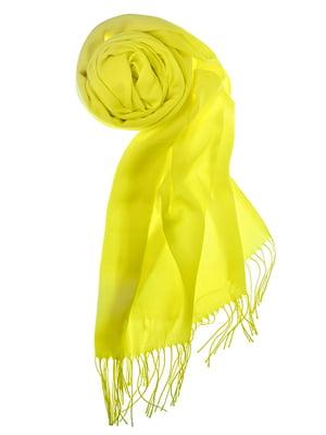 Шаль желтая | 5184568