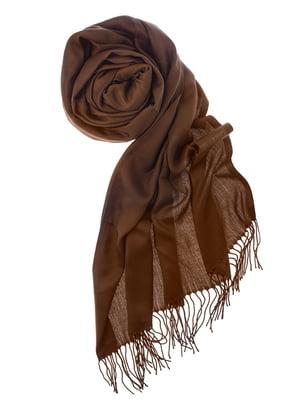 Шаль коричневая | 5184569
