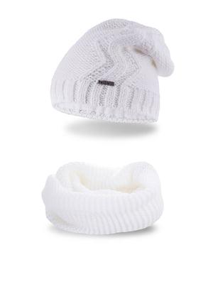 Комплект: шапка и шарф-снуд | 5184583