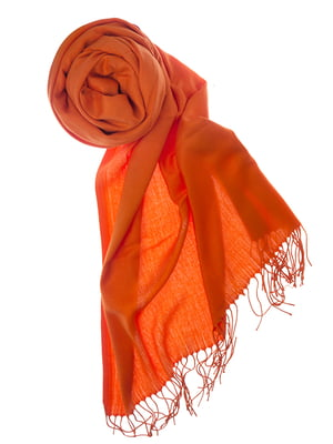 Шаль оранжевая | 5184592