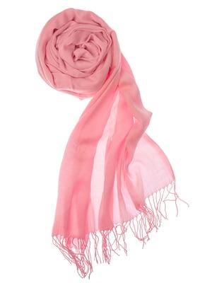 Шаль розовая | 5184602