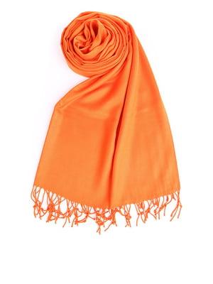 Шаль оранжевая | 5184617