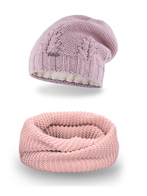 Комплект: шапка и шарф-снуд   5184635