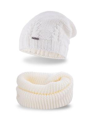 Комплект: шапка и шарф-снуд   5184636