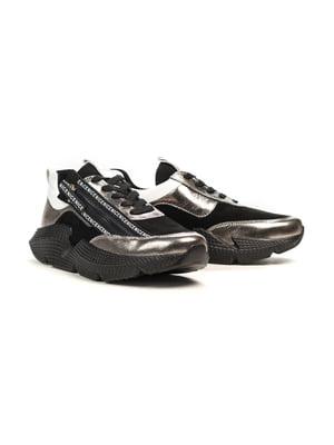 Кросівки кольору нікелю | 5181201