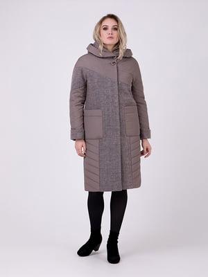 Пальто серое - Almatti - 5182887