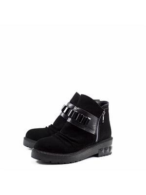 Черевики чорні - Aquamarine - 5185552