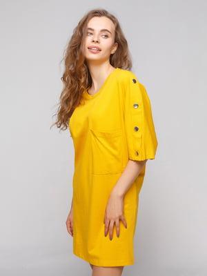 Платье желтое | 4874070