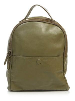 Рюкзак оливкового кольору | 4916147