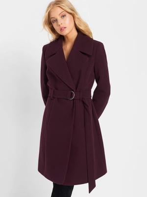 Пальто фиолетовое | 5187209
