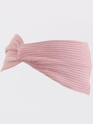 Повязка на голову розовая | 5188361