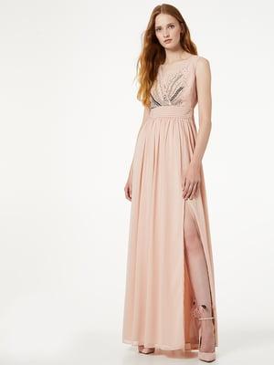 Платье бежевое | 5189291