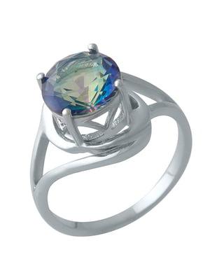 Женское серебряное кольцо с топазом | 5189377