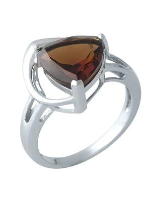 Женское серебряное кольцо с гранатом | 5189695