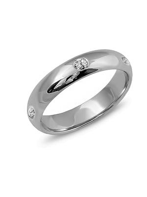 Bibigi Обручальное золотое кольцо с бриллиантами | 5191269