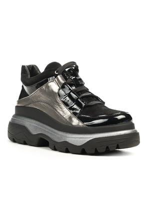 Кроссовки цвета черный никель | 5169500